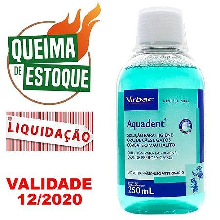 Aquadent 250ml Higiene Oral - Virbac - LIQUIDAÇÃO