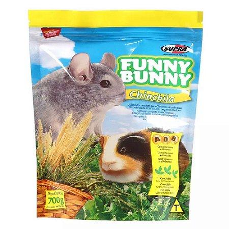 Ração Supra Funny Bunny Chinchila 700g