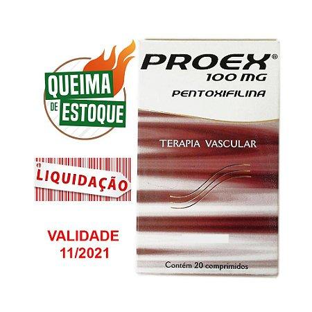 Proex 100mg 20 Comprimidos - Cepav (VAL: 11/21)