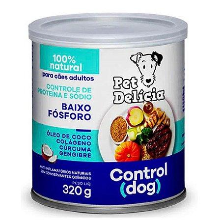 Ração Úmida Para Cães Pet Delicia Control 320g