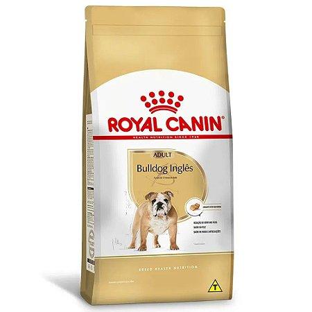 Ração Royal Canin Breeds Bulldog Inglês Adult 12kg