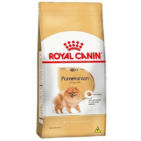 Ração Royal Canin Breeds Pomeranian A Partir de 8 Meses 1kg