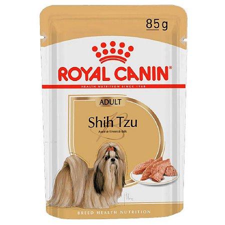 Ração Úmida Royal Canin Breeds Shih Tzu Adult Wet 85g