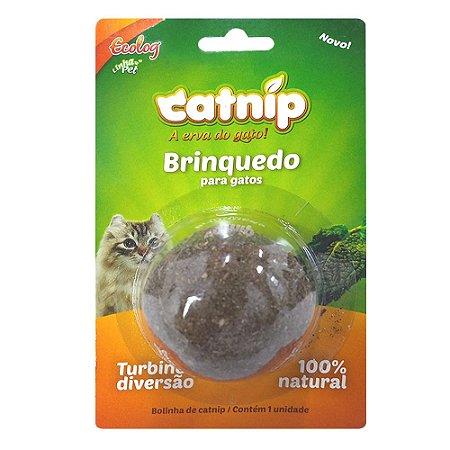 CatNip Bolinha -Ecolog - Erva do Gatos