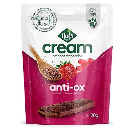 Bifinho Recheados Cream Anti-Ox 120g - Nats
