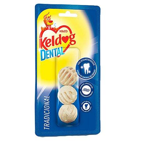 Keldog Dental Bolinha C/3 - Kelco