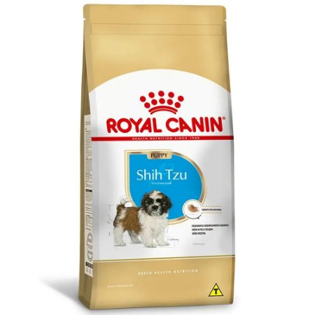 Ração Royal Canin Breeds Shih Tzu Puppy 2,5kg