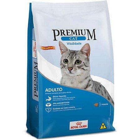 Ração Royal Canin Premium Gatos Adultos Vitalidade 1kg