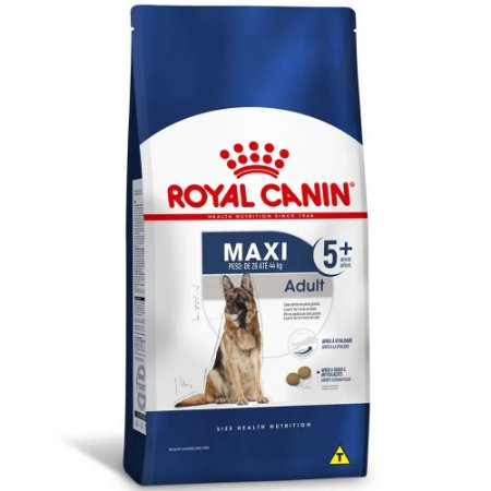 Ração Royal Canin Size Maxi Adult 5+ Cães Adultos Acima de 5 Anos de Porte Grande 15kg