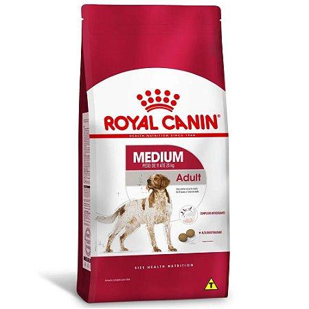 Ração Royal Canin Size Medium Adult Cães Adultos de Porte Médio 2,5kg