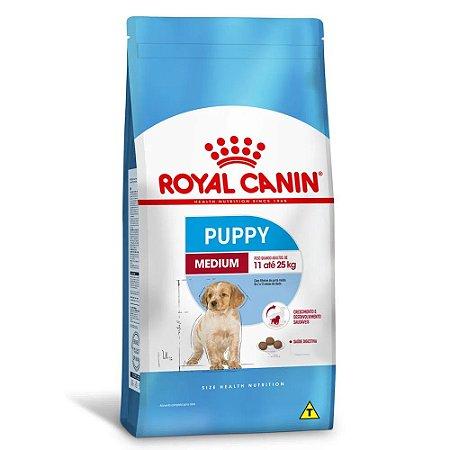 Ração Royal Canin Size Medium Puppy Cães Filhotes de Porte Médio 15kg
