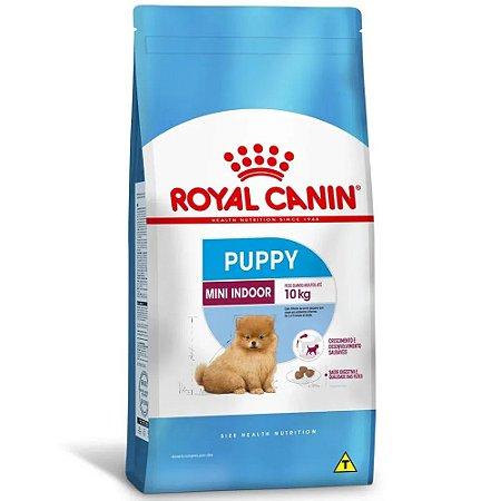 Ração Royal Canin Size Mini Indoor Puppy Cães Filhotes de Porte Pequeno 2,5kg
