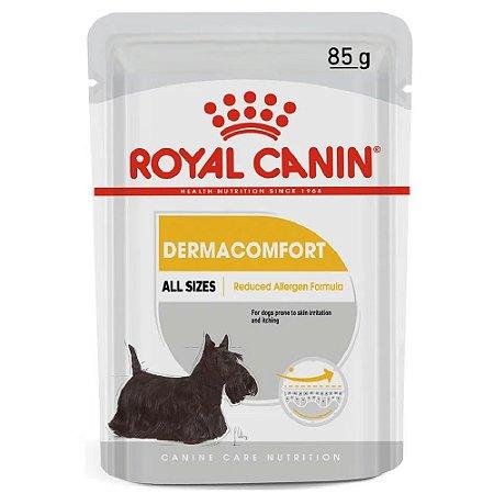 Ração Úmida Royal Canin Dermacomfort Cuidos da Pele 85g