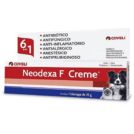 Neodexa F Creme Cães e Gatos 15g - Coveli
