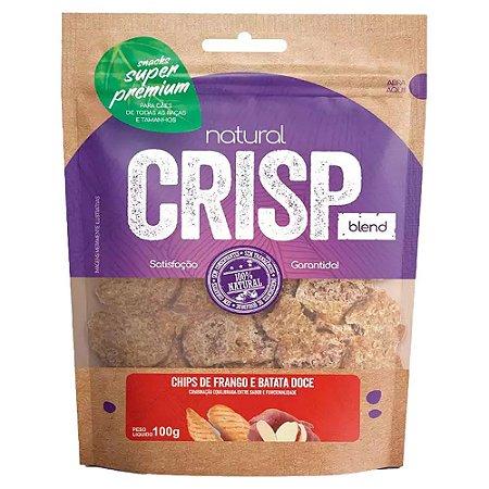 Snacks Chips De Frango E Batata Doce Natural Crisp 100g