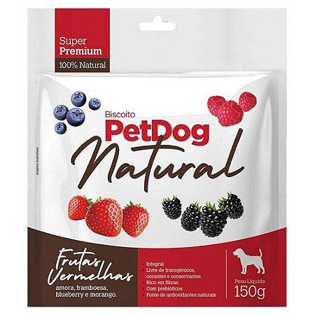 Biscoito PetDog Frutas Vermelhas 150g