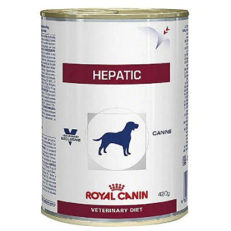 Ração Úmida Royal Canin Veterinary Diet Cães Hepatic  420g