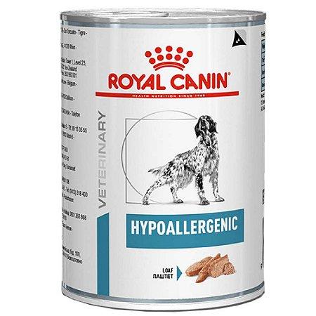 Ração Úmida Royal Canin Veterinary Diet Cão Hypoallergenic 400g