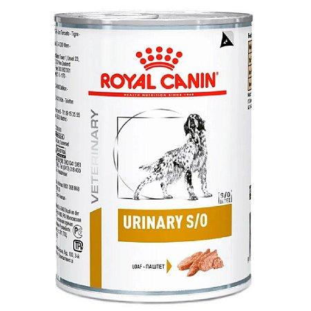 Ração Úmida Royal Canin Veterinary Cão Urinary Wet 410g