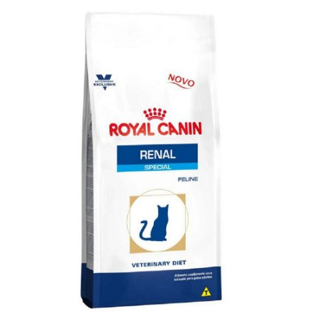 Ração Royal Canin Veterinary Gatos Renal Special 1,5kg