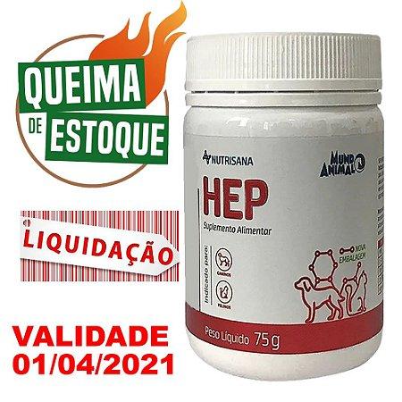 Suplemento Vitamínico Nutrisana Hep 75g - LIQUIDAÇÃO