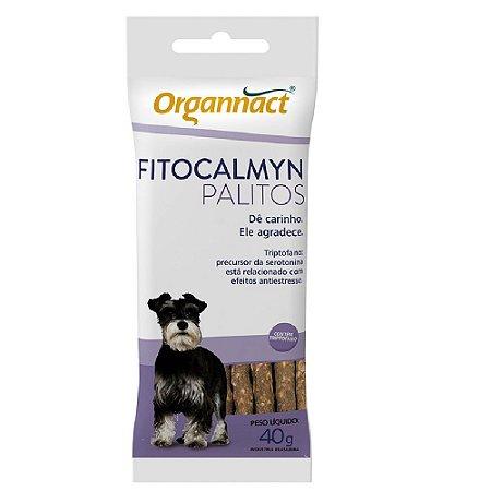 Suplemento Alimentar Organnact Fitocalmyn Palitos 40G