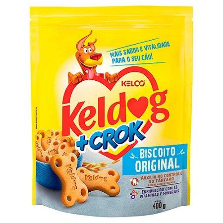 Biscoito Keldog +Crok Original 400g