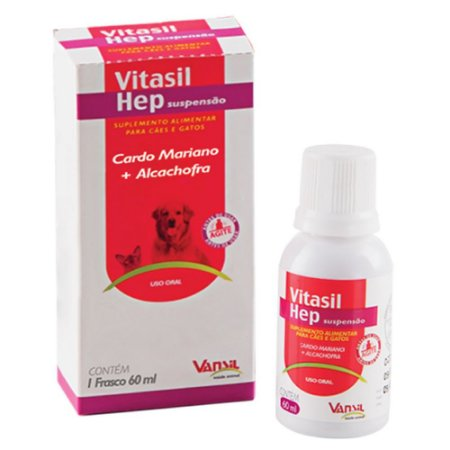 Suplemento Vitasil Hep Suspensão 60ml - Vansil
