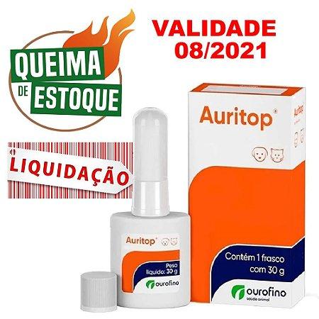 Auritop Gel 30g - Ourofino - Liquidação (Val.08.21)