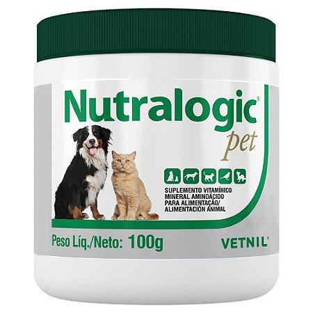 Suplemento Nutralogic Pet 100g - Vetnil