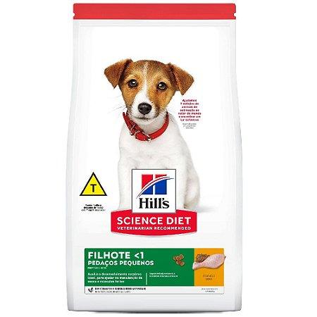 Ração Hills Science Diet Cães Filhotes Pedaços Pequenos 12kg
