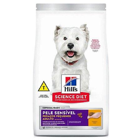 Ração Hills Science Diet Cães Sensível Pedaços Pequenos 6kg
