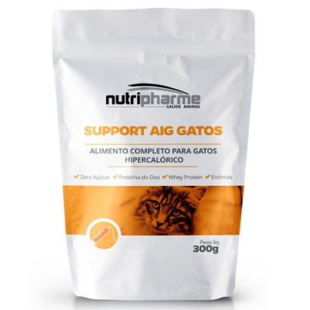 Support Aig Gatos Hipercalórico 300g- Nutripharme