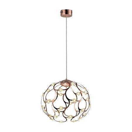 Pendente Spher 45x55cm 40W LED Cob BB002L - Bella