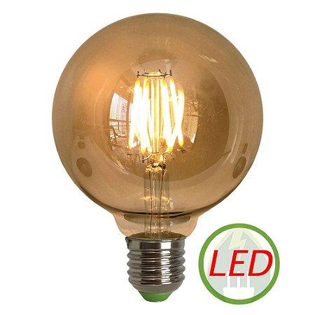 Lâmpada G95 Retrô Decorativa Vintage LED 4w Bivolt - Gmh