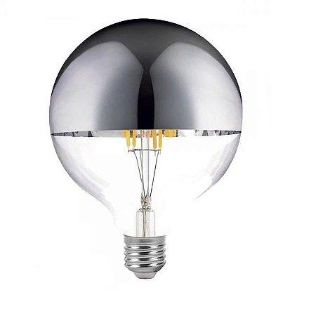 Lâmpada de Filamento LED G125 Defletora 8W - GMH