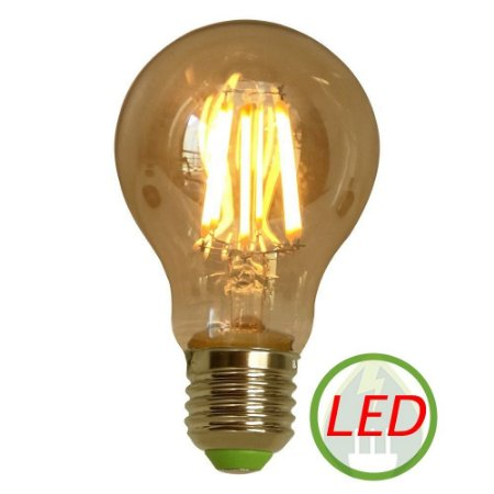 Lâmpada A19 Retro Decorativa Vintage Led 6w 127v - Gmh