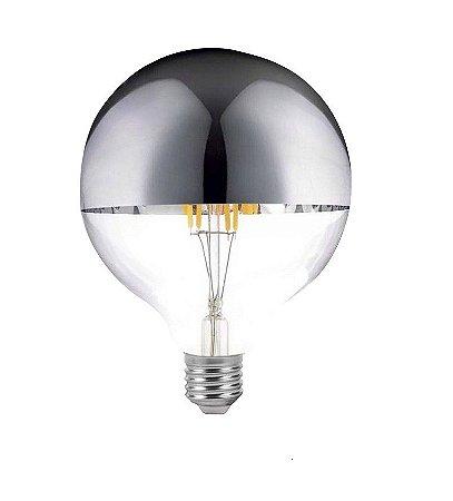 Lâmpada de Filamento LED G80 Defletora 6W - GMH