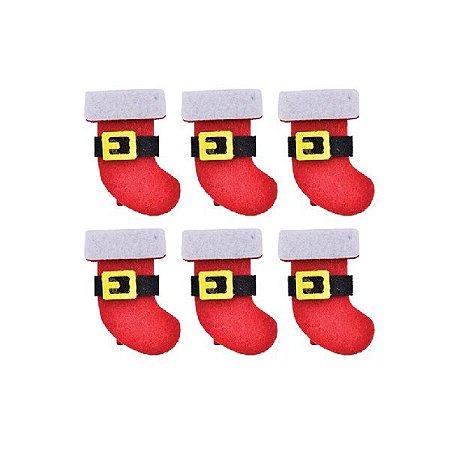 Enfeite Prendedor Bota de Natal