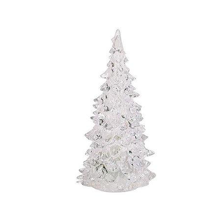 Mini Árvore com Luz Piscante 12cm