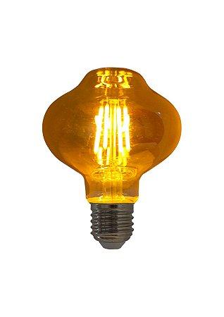 Lâmpada de Filamento LED L80 Squirrel Cage 2,5W Bivolt