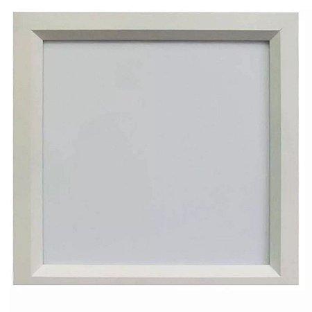 Luminária LED 25W Embutir Sevilha Branco quente 33x33 Tualux