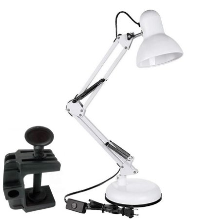 Luminária Desk Lamp Branco - GMH