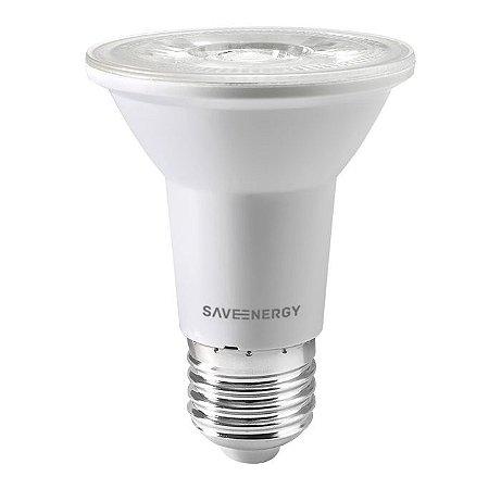 Lâmpada PAR20 LED Clear 7W 6500K Bivolt - Save Energy