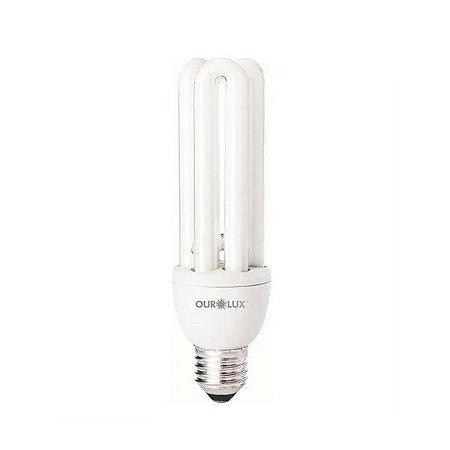 Lâmpada Fluorescente 20W 127V 3U 6400k - Ourolux