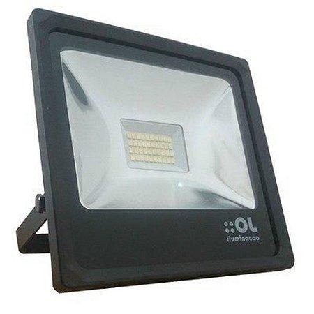 Refletor 30w LED 6500k Bivolt Ol Iluminação - R30a6a
