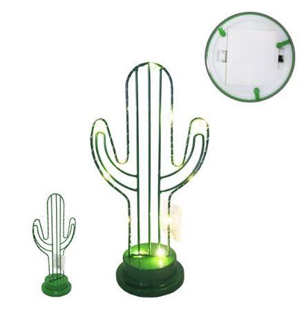 Luminária Decorativa Cacto