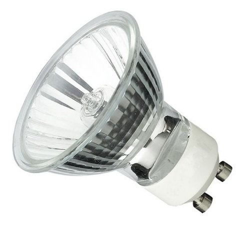 Lâmpada Dicróica Halógena 50w Gu10 3000k - Flc