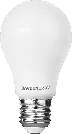 Lampada Bulbo LED A60 8w 3000K - SAVE ENERGY