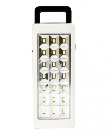 Lanterna de Emergência Recarregável Bivolt 21 LEDs- ALFACELL